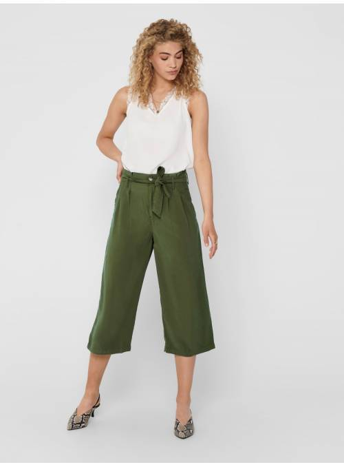 PANTS FEM WOV VLE93/PL7 - GREEN -