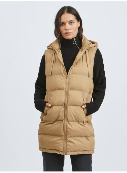 GILET LUX BROWN -