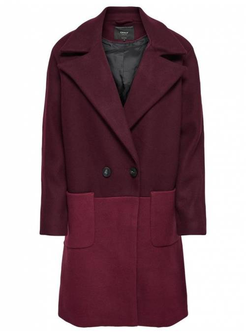COAT FEM WOV PL50/PC47/WO3 - RED -
