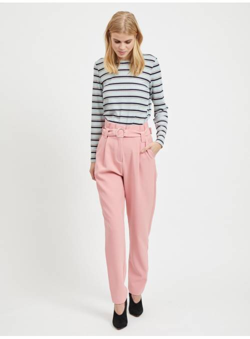 PANTS FEM WOV PL95/EA5 - ROSE -