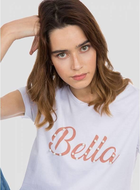 Camiseta M/C Perla
