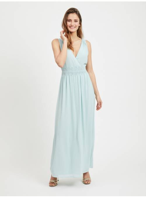 MAXI DRESS TURQUOISE -