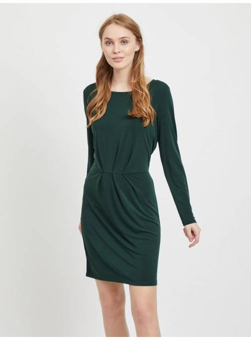 DRESS PLIEGUES - GREEN -