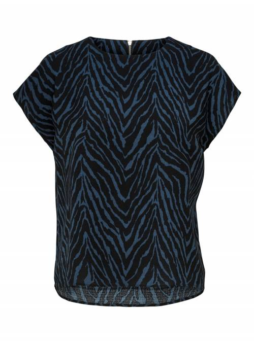 SHIRT - WITH SLEEVES FEM WOV PL100 - BLA