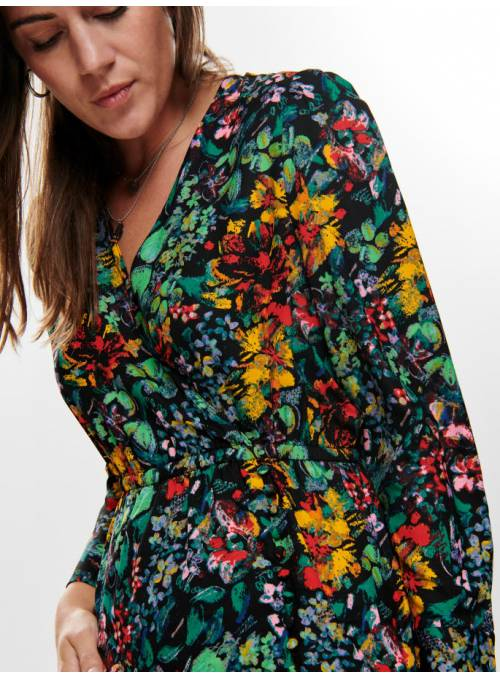 DRESS MULTI- FLOWER