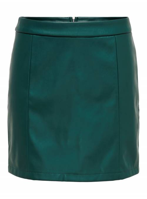SKIRT FEM KNIT PPU100 - GREEN -