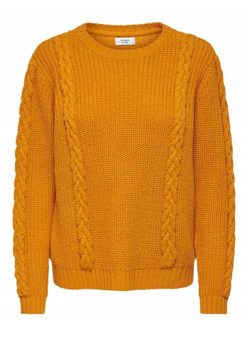 PULLOVER FEM KNIT PC100 - ORANGE -