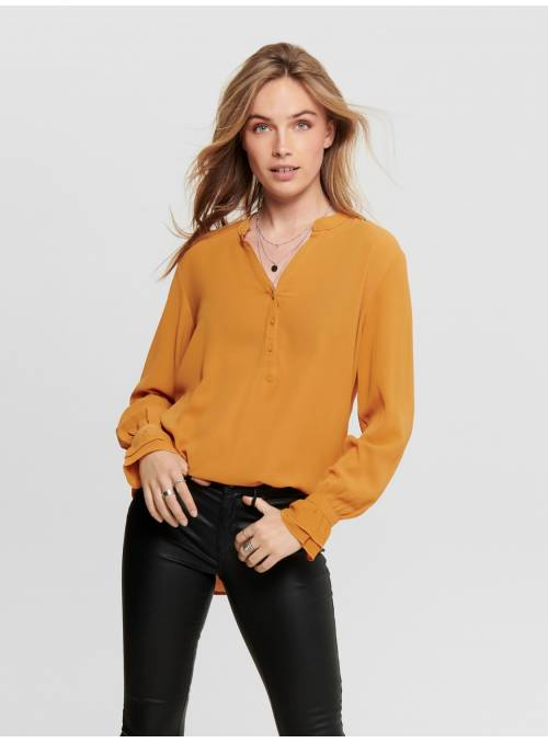 SHIRT - WITH SLEEVES FEM WOV PL96/EA4 -