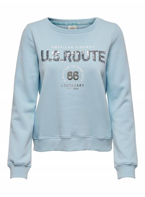SUDADERA BLUE - ROUTE