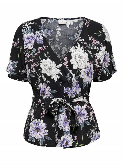 BLOUSE - BLUE FLOWER -