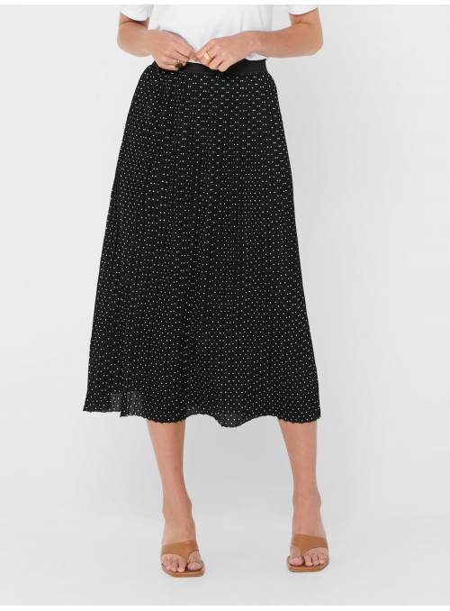 SKIRT FEM KNIT PL100 - BLACK - CLOUD DAN